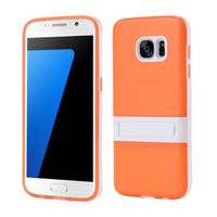 Soft TPU Case with Kickstand Samsung Galaxy S7 - Orange