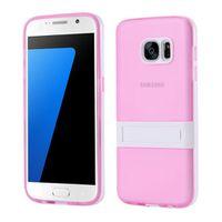 Soft TPU Case with Kickstand Samsung Galaxy S7 - Pink