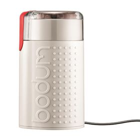 Bodum - Bistro Electric Coffee Grinder - White Matt Finish