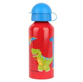 Stephen Joseph Stainless Steel Bottle Dino Red