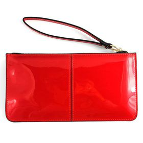 Lily&Rose Red Patent Leather Purse with Handsling