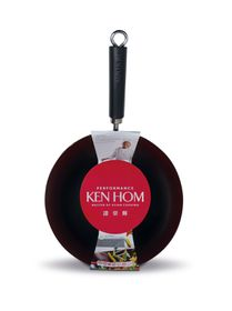 Ken Hom - Performance 28cm Non-Stick Carbon Steel Wok