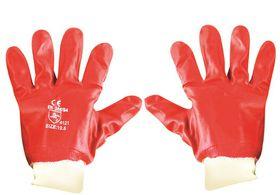 Fragram - Glove PVC Red Knit Wrist