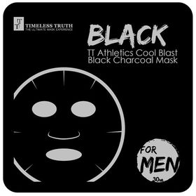 Timeless Truth Athletics Cool Blast Black Charcoal Mask For Men - 30ml