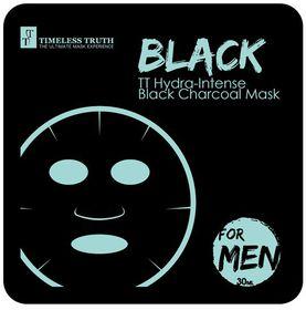 Timeless Truth Hydra-Intense Black Charcoal Mask Roe Men - 30ml