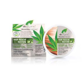Dr.Organic Hemp Oil Intensive Conditioning Hair Mask - 200ml