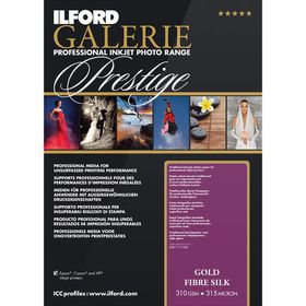 Ilford Prestige Gold Fibre Silk 13 A2 Photo Paper