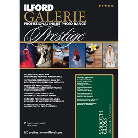 Ilford Prestige Smooth Gloss 12 A3 Photo Paper