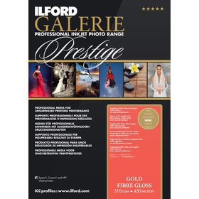 Ilford Prestige Gold Fibre Gloss 17 A3+ Photo Paper
