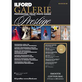 Ilford Prestige Smooth Cotton Rag 19 A4 Photo Paper