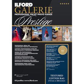 Ilford Prestige Textured Cotton Rag 19 A4 Photo Paper