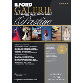 Ilford Prestige Metallic Gloss 10 A4 Photo Paper