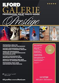 Ilford Prestige Lustre Paper 11 A3 Photo Paper