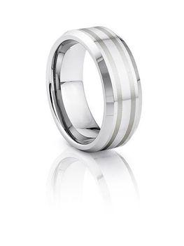 Martin Nagel Jewellers Tungsten Carbide Wedding Bands TUR040