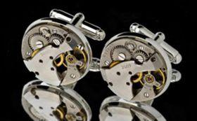 Martin Nagel Jewellers Cufflink Set J20 Black Eagle