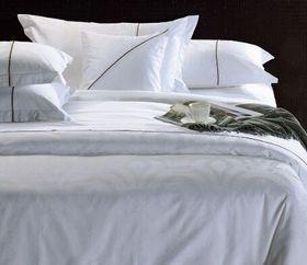 Chic Linen - Luxurious Egyptian Cotton Classic White Duvet Cover Set - Pearl