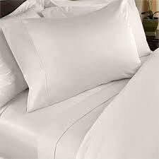 Chic Linen - Luxurious Fitted Sheet - White