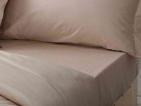 Chic Linen - Luxurious Fitted Sheet - Natural