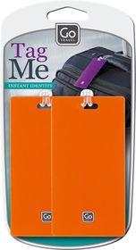 Go Travel Tag Me - Orange