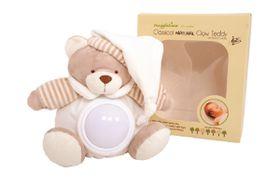 Snuggletime - Beige Classical Plush Natural Glow Teddy