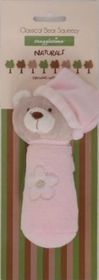 Snuggletime - Classical Plush Bear Squeezy - Pink