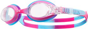 Junior TYR Swimple Tie Dye Goggles - Pink/Blue