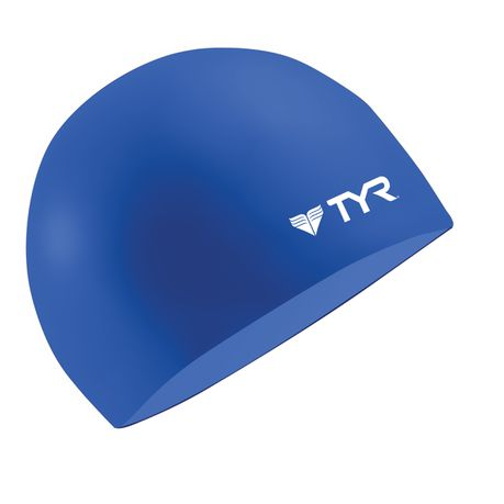 TYR Long Hair Wrinkle Silicone Swim Cap Pink for sale online