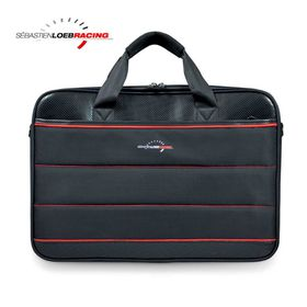 """Port SLR Racing Top Loading Laptop Bag 15.6"""" - Black/Red"""