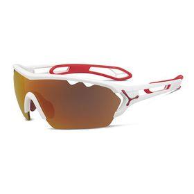 Cebe S'Track Mono L Matt White Red 1500 Grey Af Orange FM and Clear