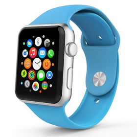 Tek88 Apple Watch Silicone Sports Band 42mm (Blue)