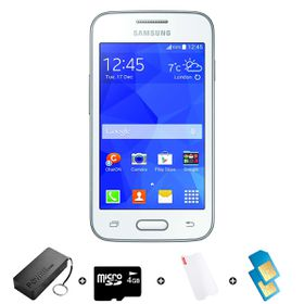 Samsung Trend Neo 4GB 3G White - Bundle 3 incl. R1000 airtime + 1.2GB Starter Pack + Accessories