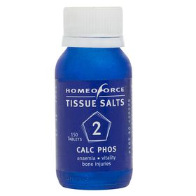 Homeoforce Tissue Salts No. 2 Calc Phos - 150 Tablets