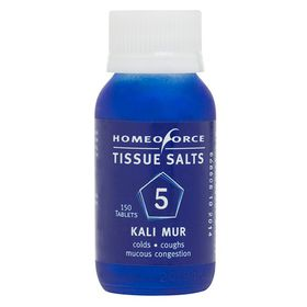 Homeoforce Tissue Salts No.5 Kali Mur - 150 Tablets