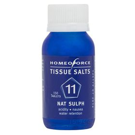 Homeoforce Tissue Salts No. 11 Nat Sulph - 150 Tablets