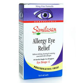 Similasan Allergy Eye Relief Single Use Drops- 10ml