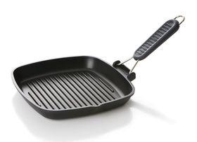 Risoli - Saporelax Grill Pan 36 x 26cm - Grey Handle