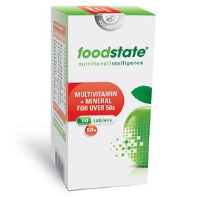 Foodstate Multivitamin & Mineral for Over 50's - 60s
