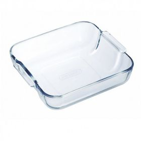 Pyrex - Classic Glass Square Roasters - Multi-Purpose - 2 Litre