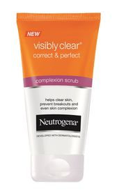 Neutrogena Visibly Clear Correct & Perfect Complexion Scrub