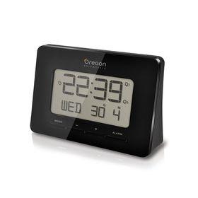 Oregon - Scientific Radio Controlled Alarm Clock - Black