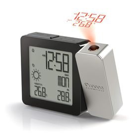 Oregon Scientific - Proji Projection Clock - Silver