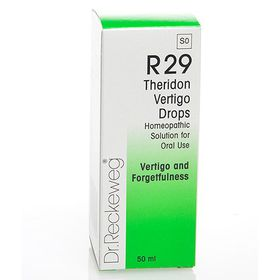 Dr. Reckeweg Theridon Vertigo Drops - 50ml