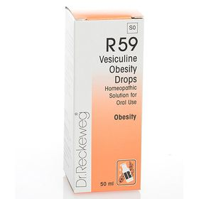Dr. Reckeweg Vesiculine Obesity Drops - 50ml