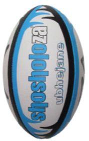 Shosholoza Ubhejane Match Rugby Ball - Blue (Size: 5)