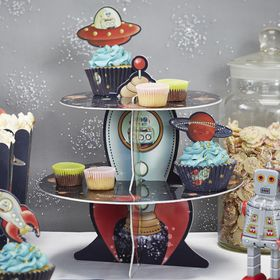 Ginger Ray - Space Adventure Cake Stand
