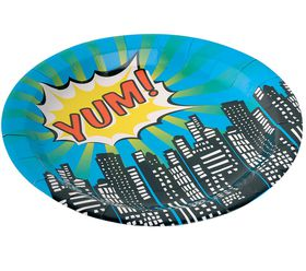 Ginger Ray - Pop Art Party Paper Plates