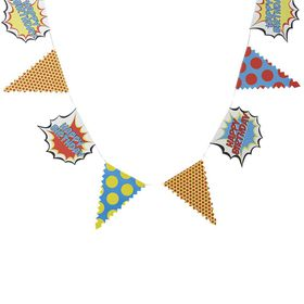 Ginger Ray - Pop Art Party Happy Birthday Bunting