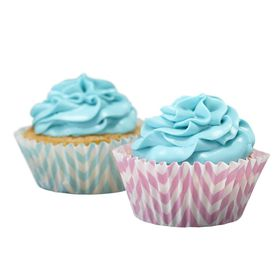 Ginger Ray - Chevron Divine Cupcake Cases