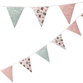 Ginger Ray - Patchwork Owl Fabric Bunting