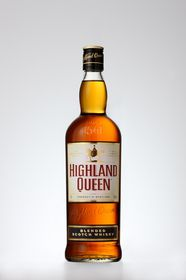 Highland Queen - Blended Scotch Whiskey - 1 Litre